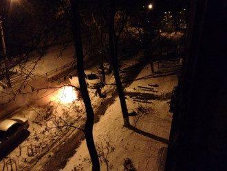 Авто, Киев, поджег