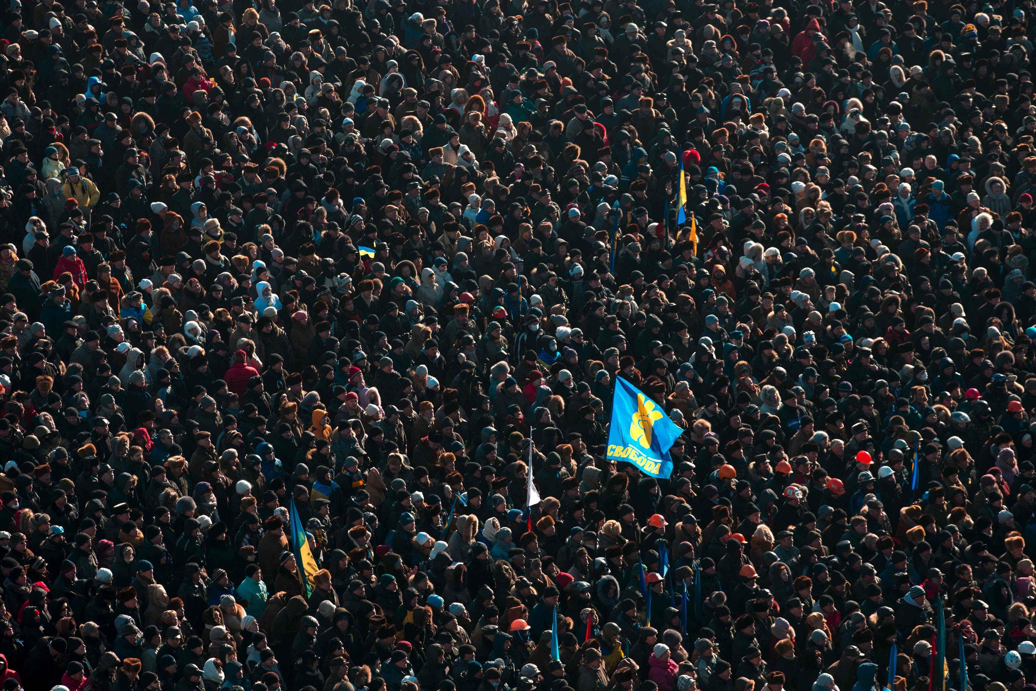 Четыре года назад Майдан выстоял