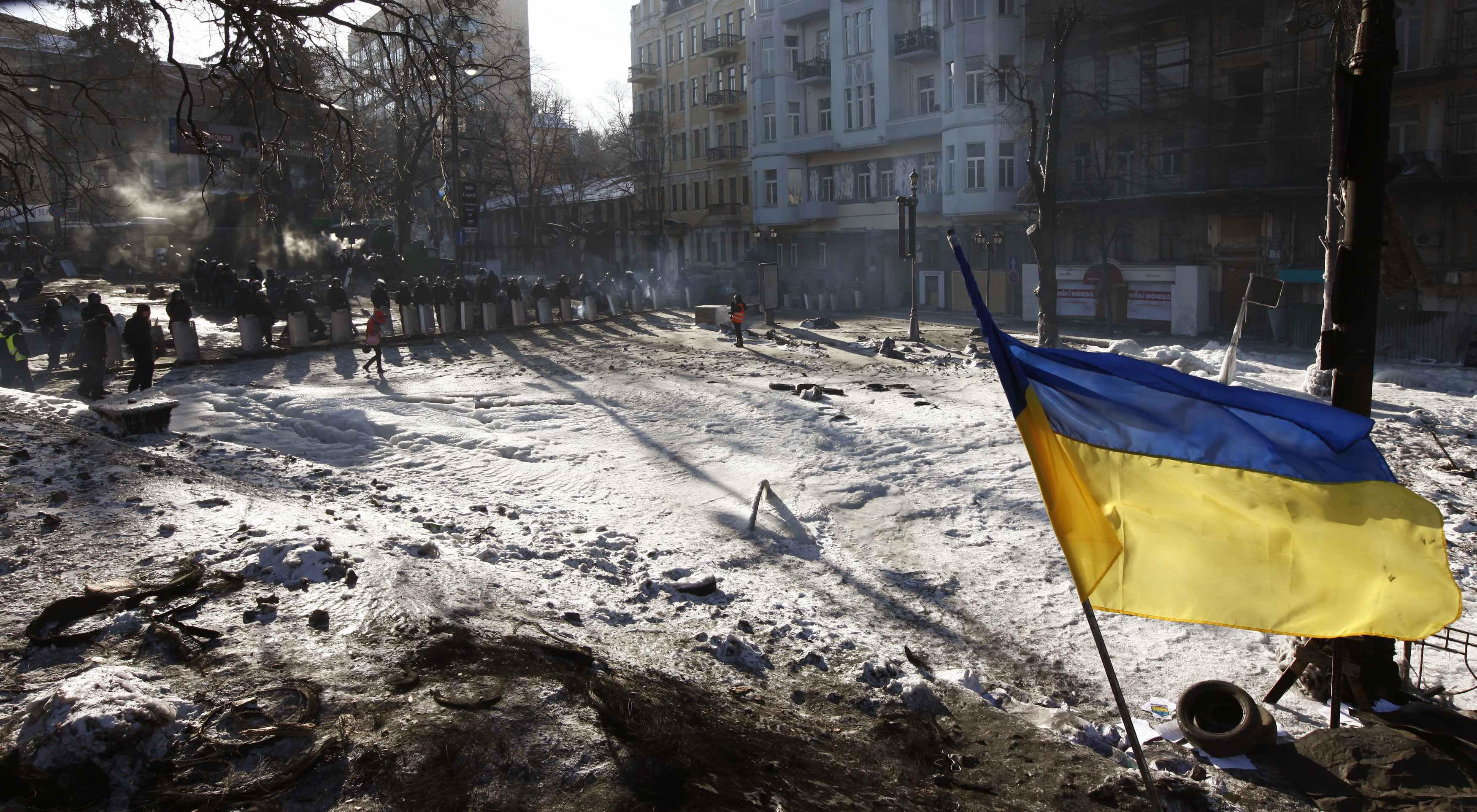 Активисты остаются на Грушевского