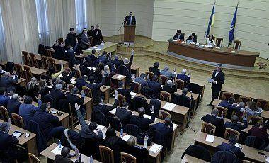 Выездное заседание Киевсовета