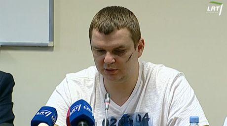 Дмитрий Булатов на пресс-конференции, скриншот