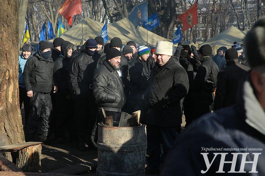 Как Майдан пикетировал Раду: опубликованы фото