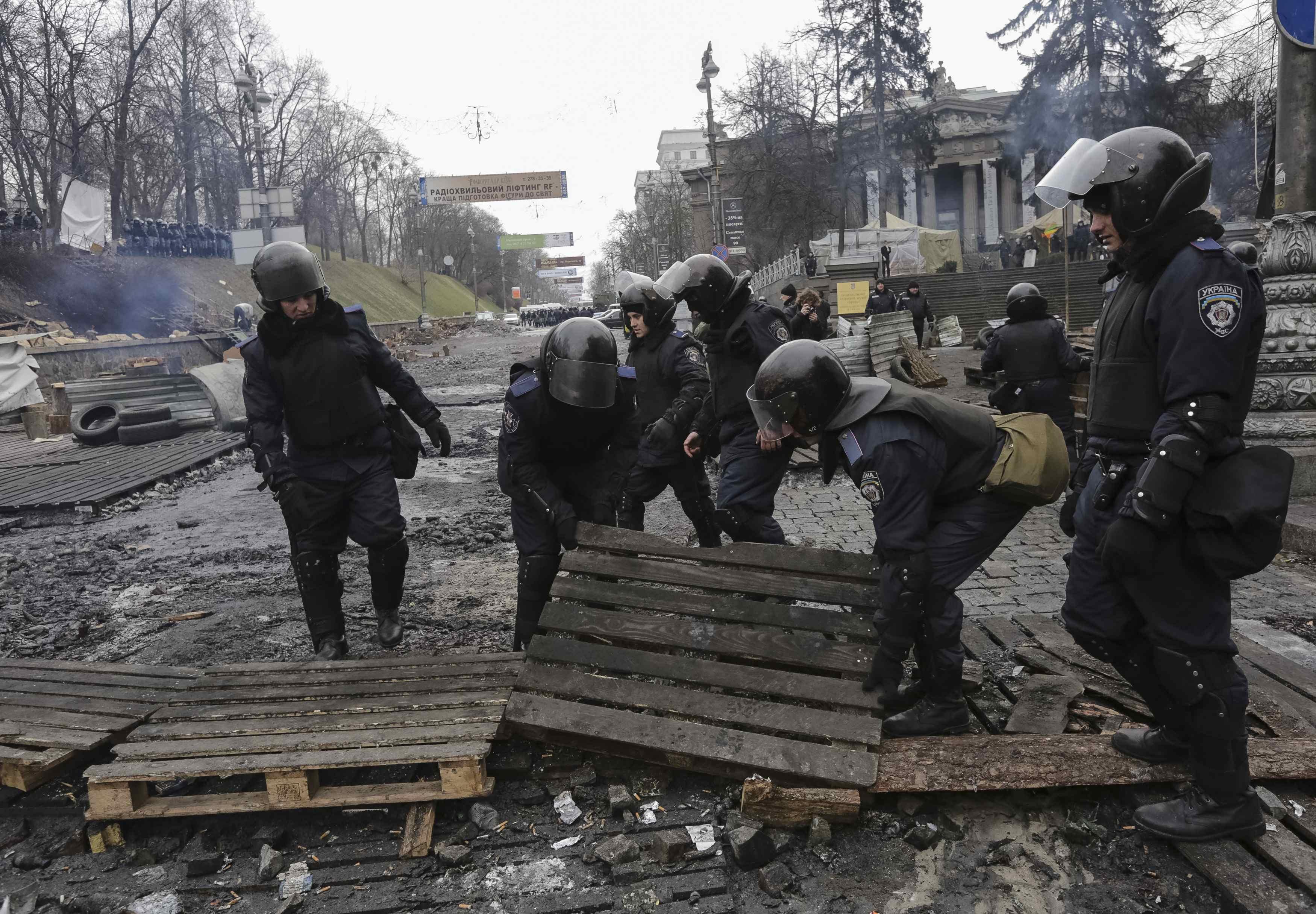 Движение по Грушевского разблокируют
