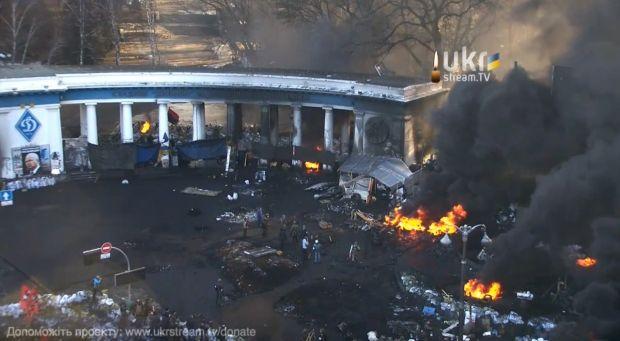 Новые пожары на Грушевского