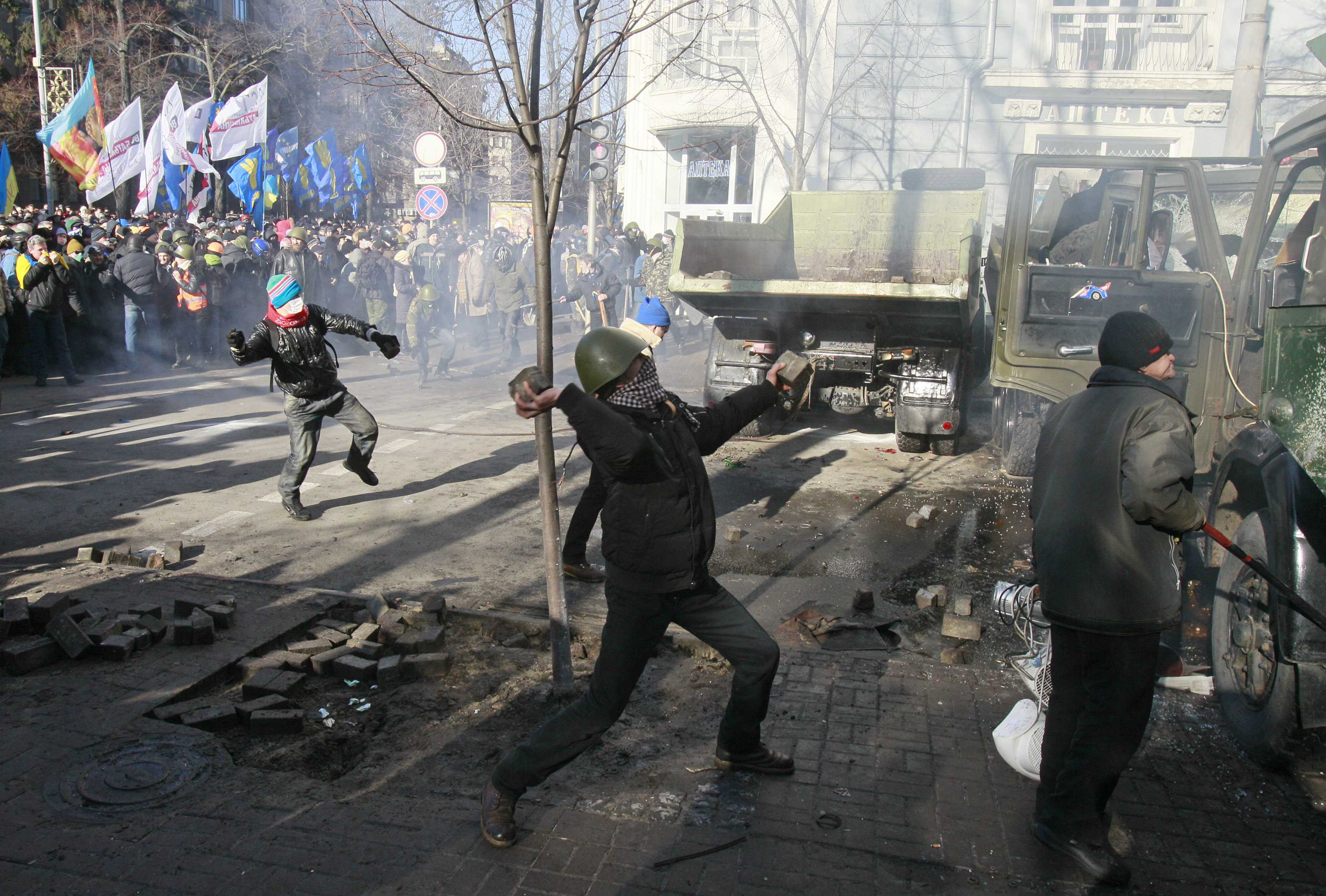 Новое противостояние в Киеве