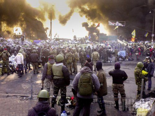 Стычки в Киеве