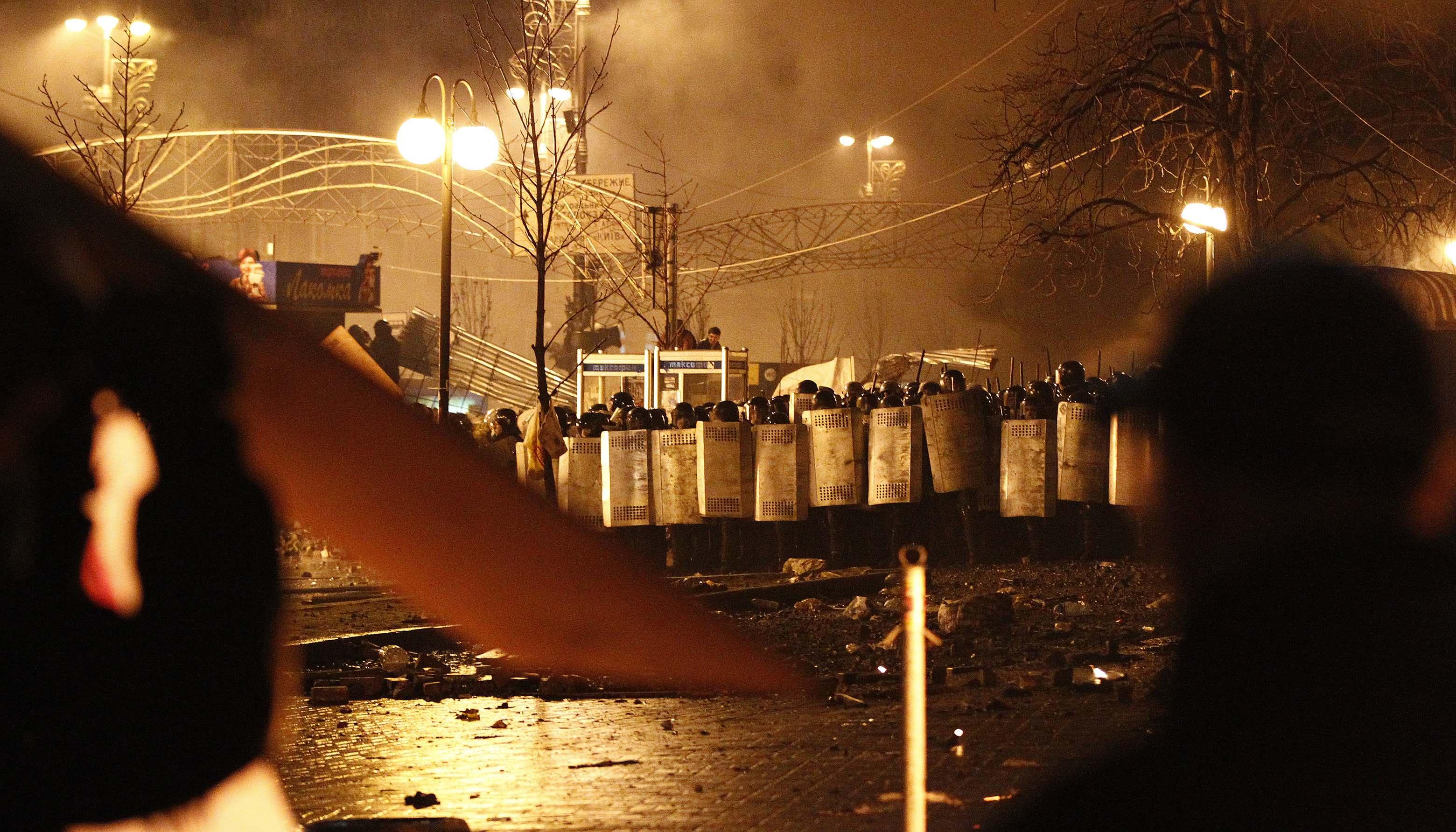 Майдан, 18 февраля 2014 года