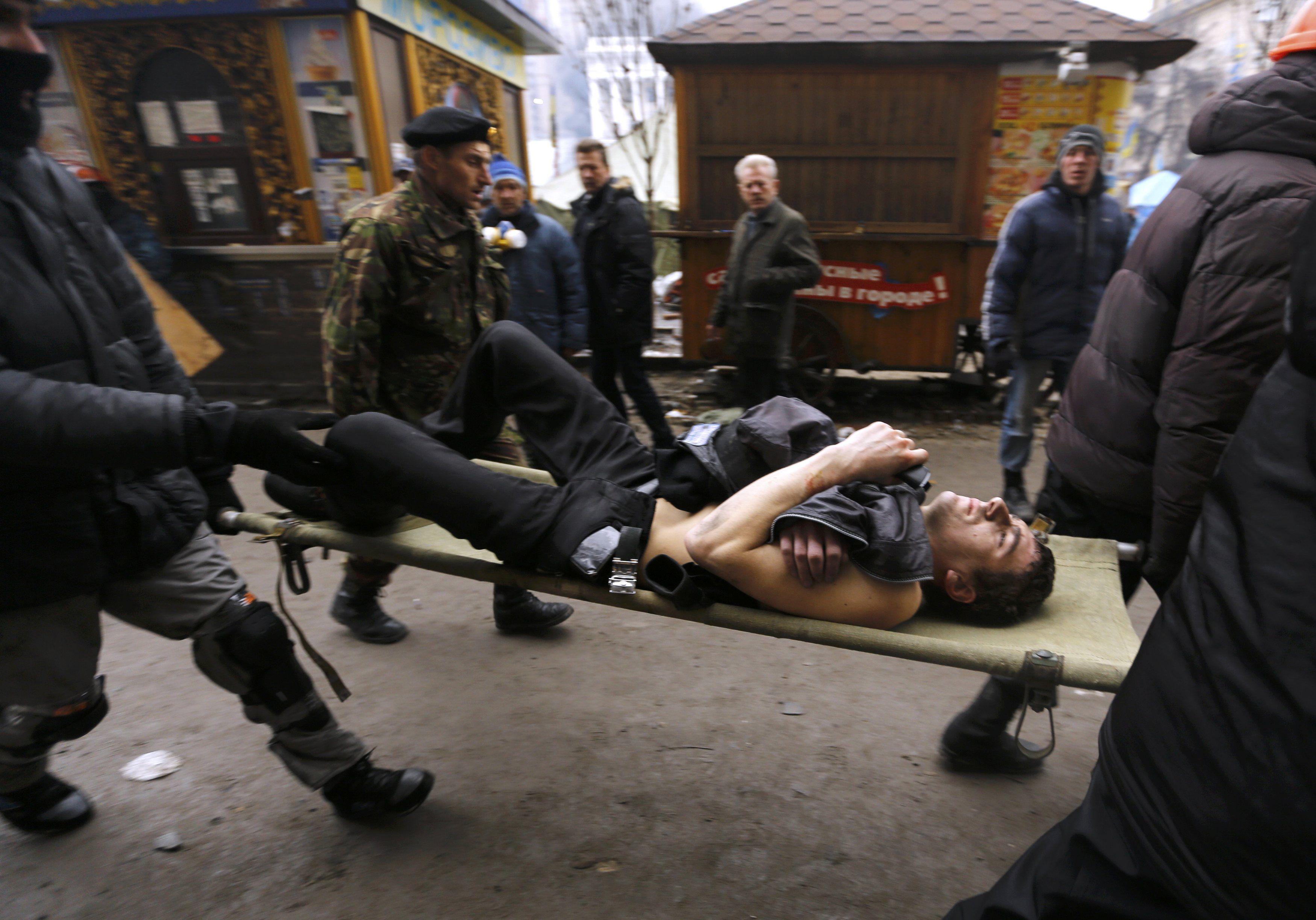 Майдан, 20 февраля