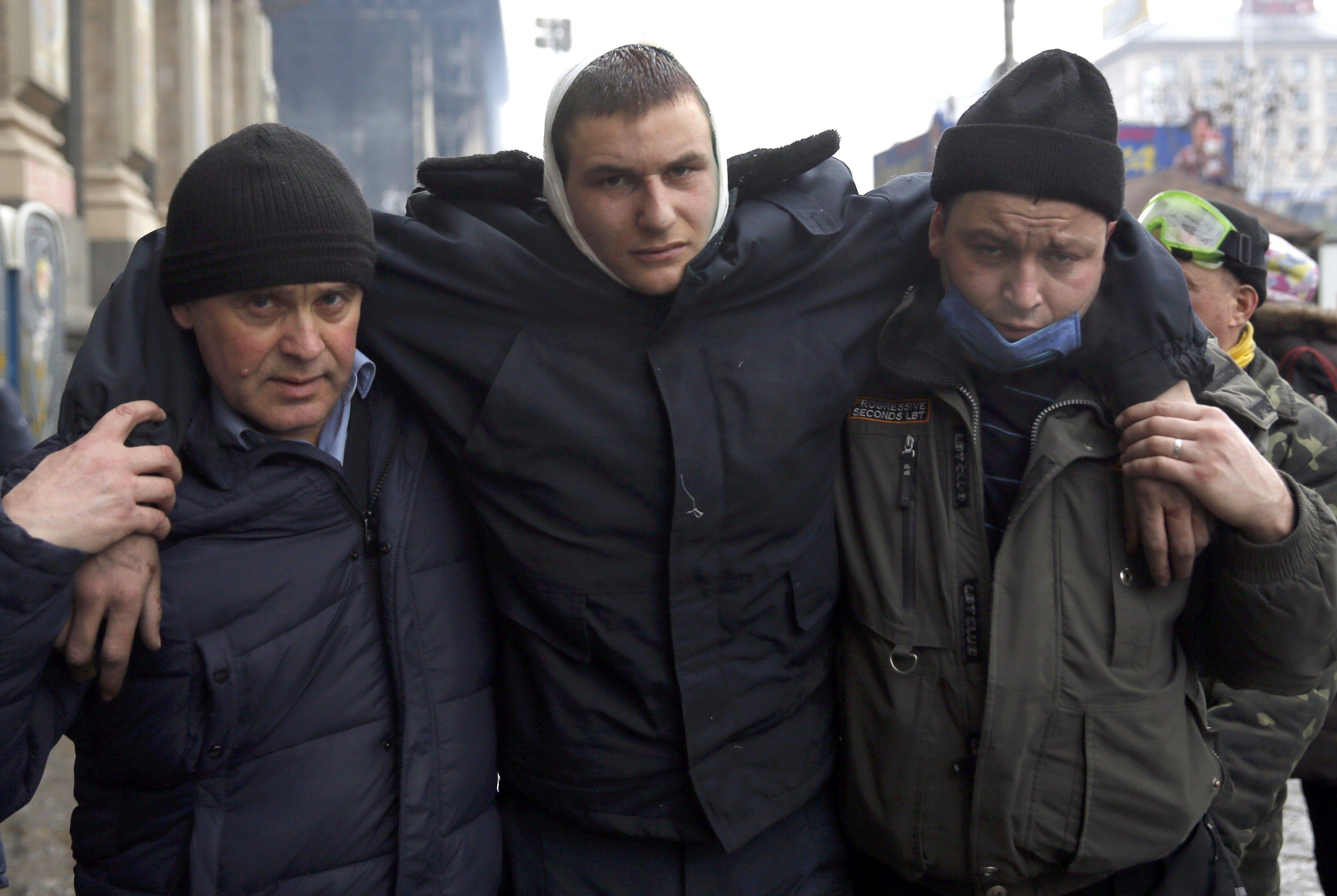 Майдан. 20 февраля