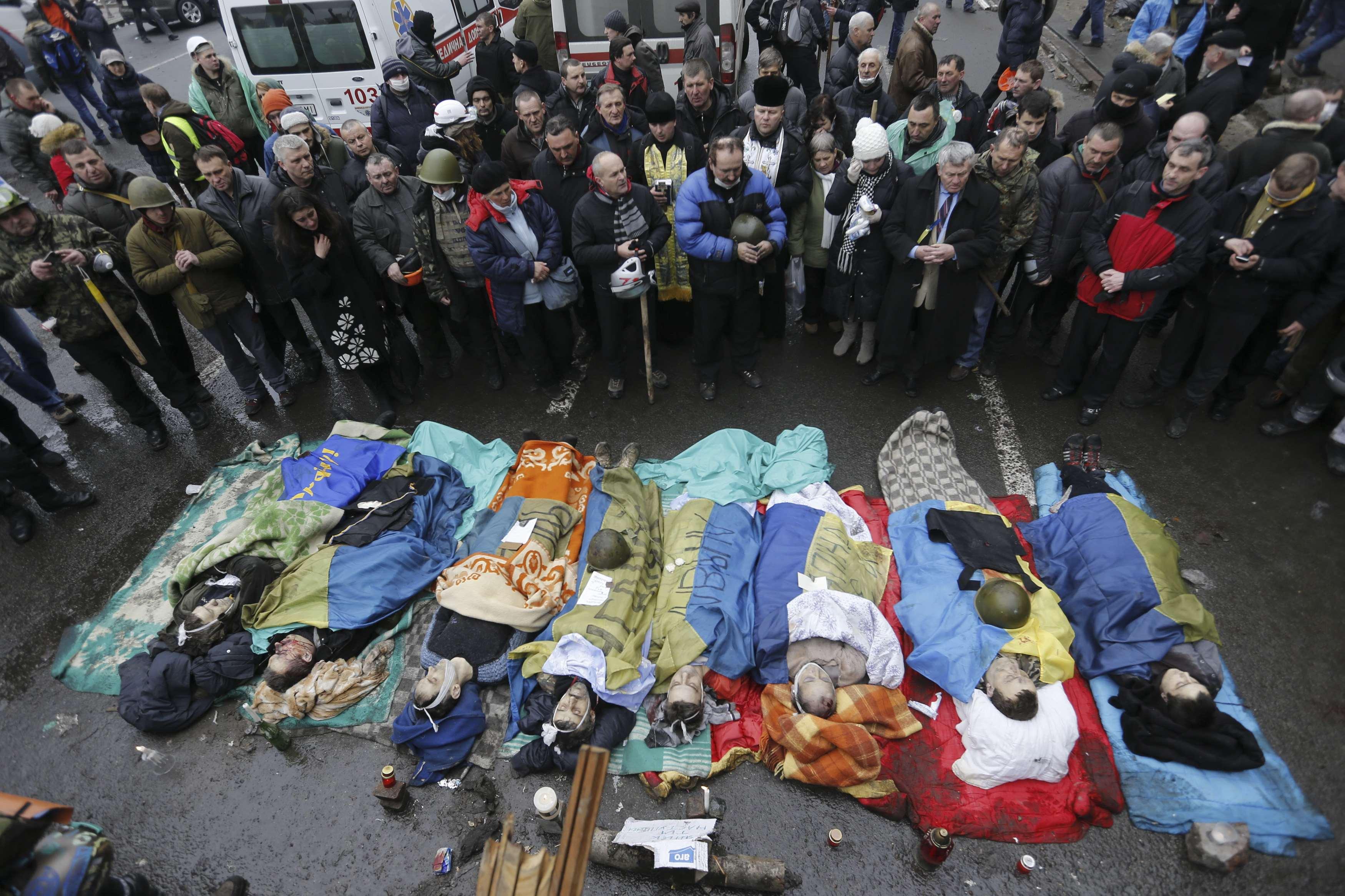20 февраля стало самым кровавым днем Майдана