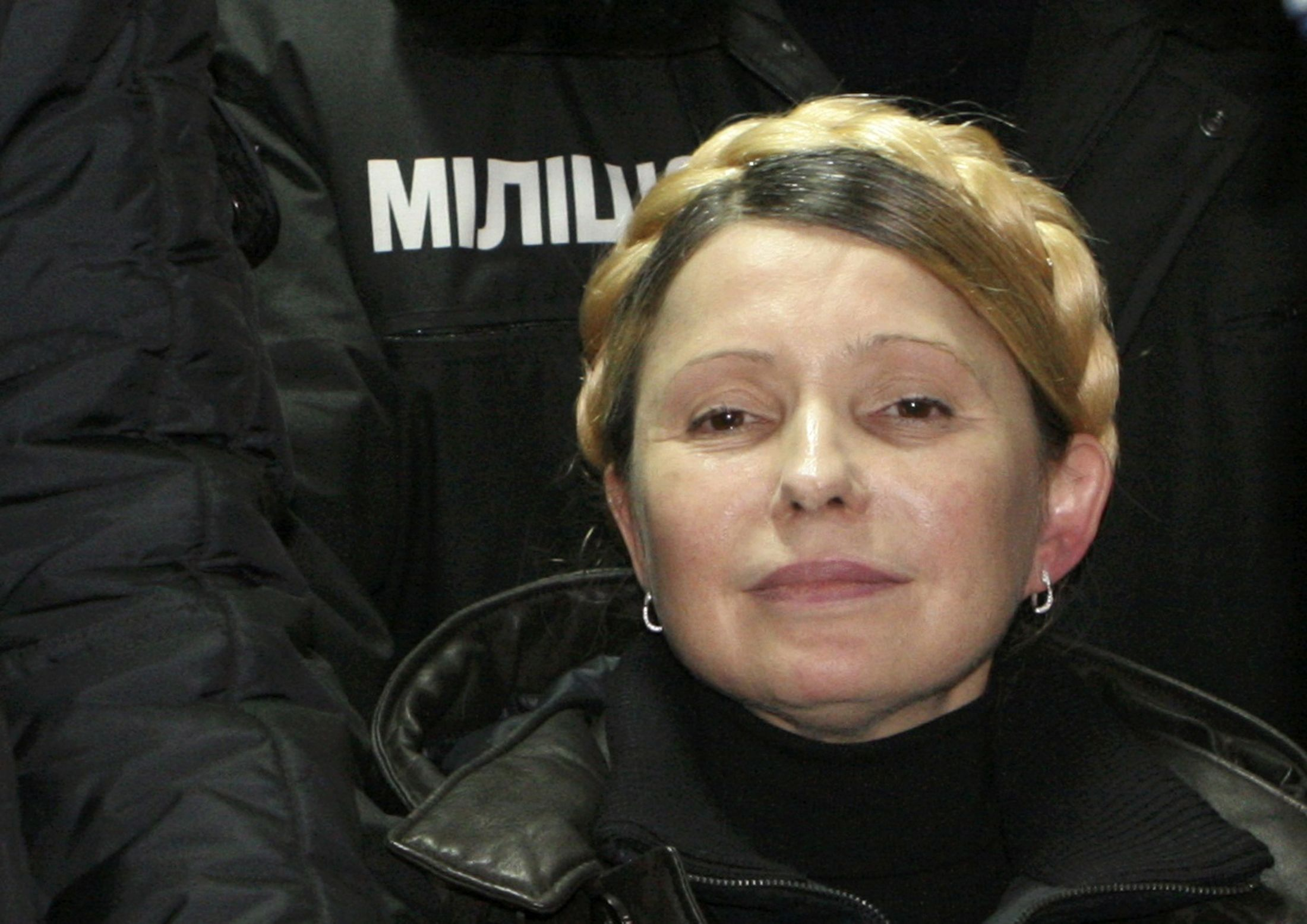 Юлия Тимошенко после освобождения