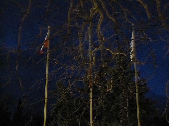 Российский флаг вместо украинского в Севастополе