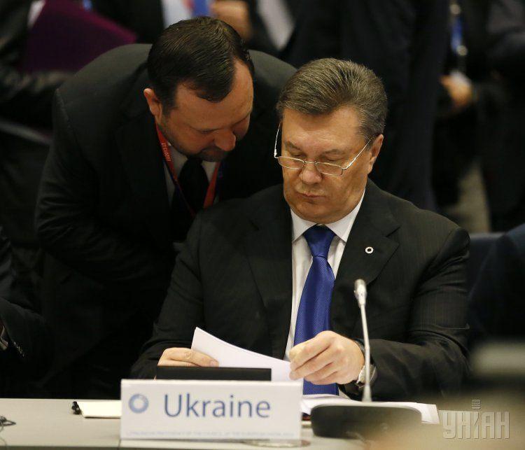 Арбузов и Янукович