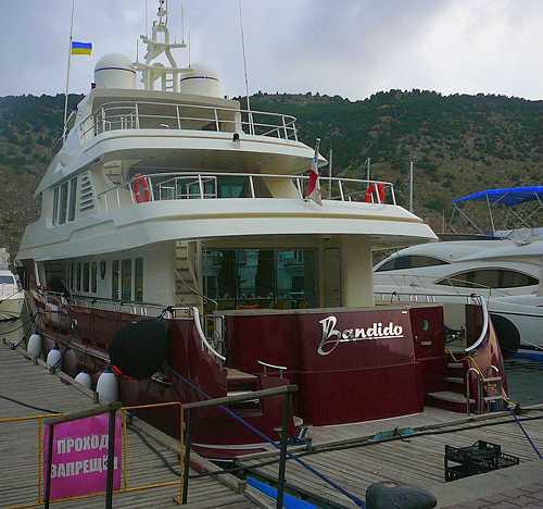 "Президентская яхта ""Bandido"""