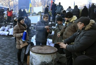 Баррикады на Грушевского