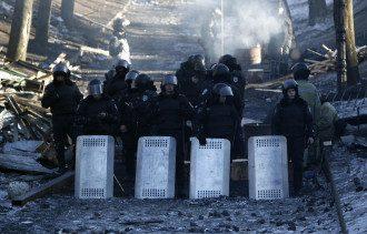 Милиция на улице Грушевского