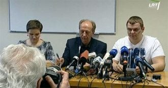 Дмитрий Булатов на пресс-конференции