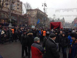 Защитники баррикад на Крещатике, 8 февраля