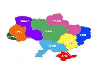 Один из вариантов федерализации Украины