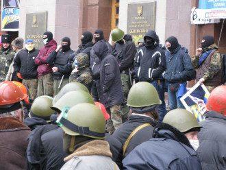 Передача КГГА активистами в воскресенье