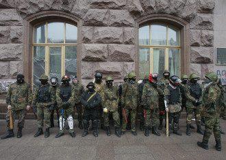 Активисты Майдана ушли из КГГА