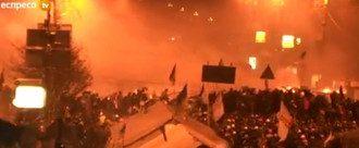 """""""Беркут"""" пошел на штурм Майдана"""