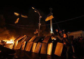 Противостояние на Майдане продолжается