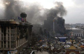 Новые стычки на Майдане