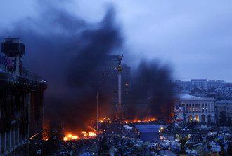 Утро на Майдане, 20 февраля