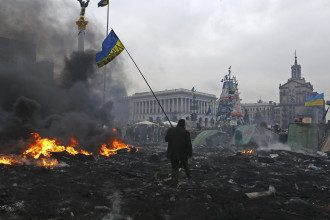 Противостояние на Майдане 20 февраля