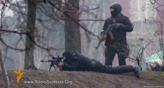 Снайперы на Институтской, 20 февраля