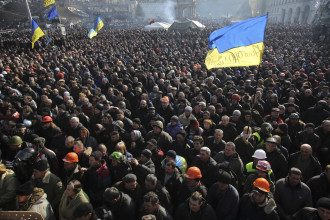 Майдан. 21 февраля