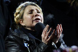 Юлія Тимошенко на Майдані в Києві
