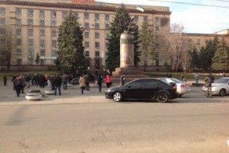 Площадь Героев Майдана в Днепропетровске