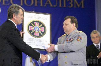 Виктор Гвоздь был начальником Главного управления разведки Минобороны при президенте Викторе Ющенко