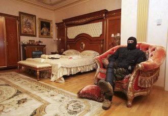 Активист Майдана в Межигорье