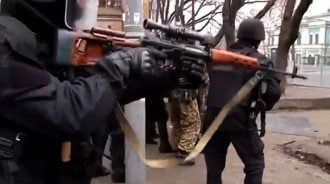 Снайперы на Майдане, иллюстрация