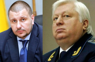 Александр Клименко и Виктор Пшонка