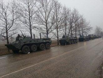 БТРы Черноморского флота