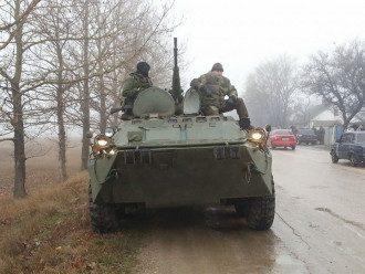 В Крыму отмечены передвижения российских силовиков