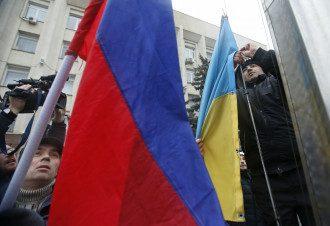 Смена флага в Симферополе