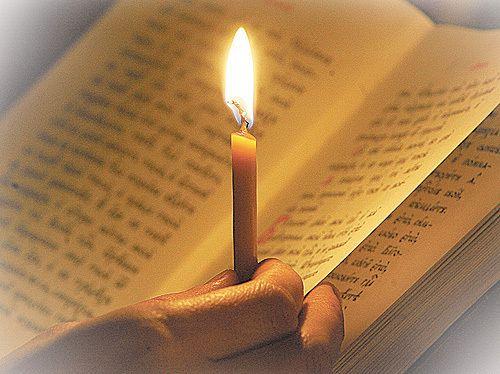 Великий пост, свеча