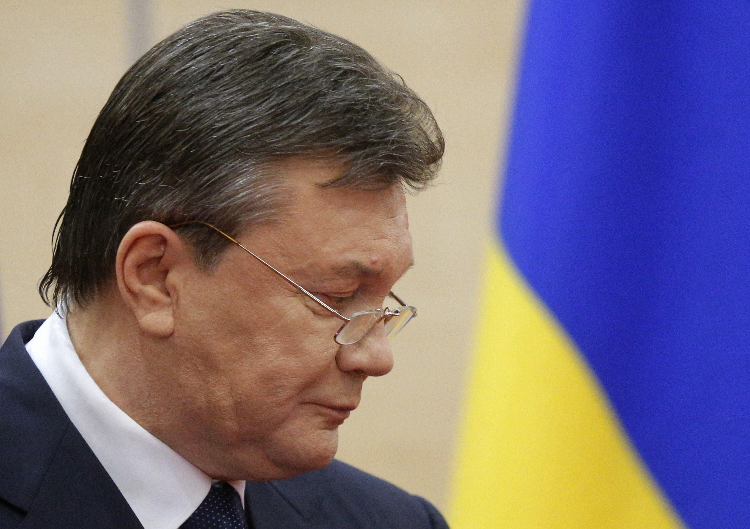 Виктор Янукович впервые дает пресс-конференцию в Москве