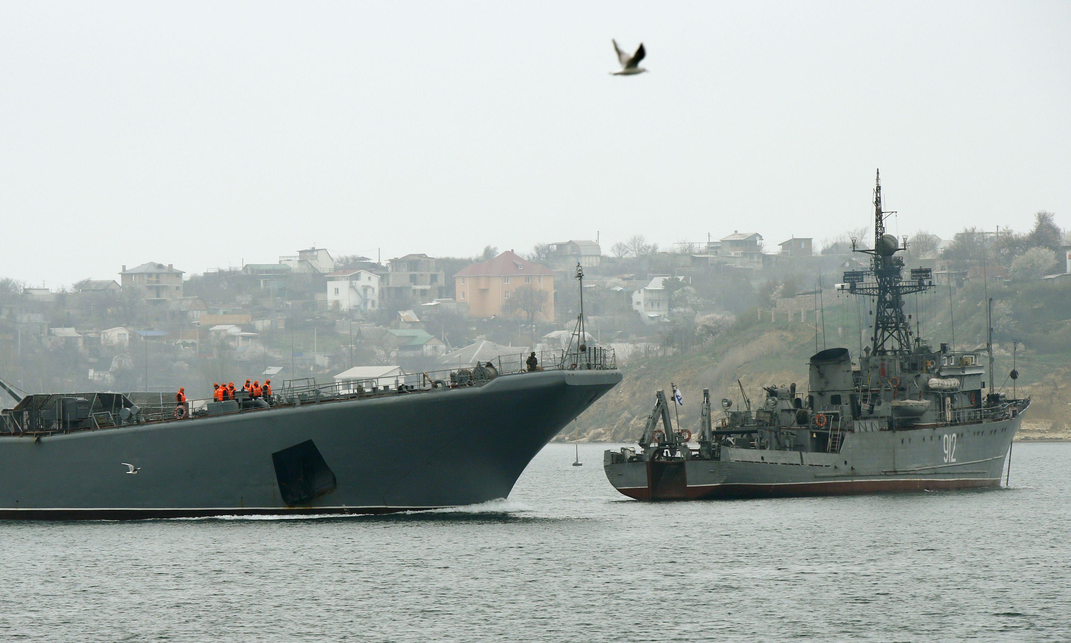 Российские корабли, Севастополь