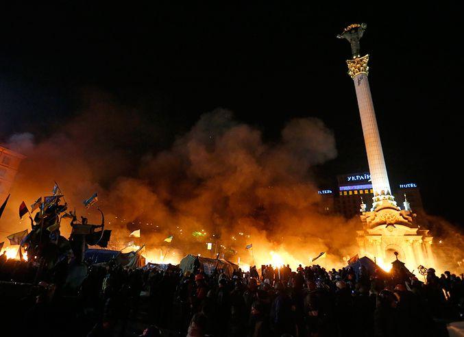 Штурм Майдана, 18 февраля