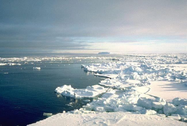 Арктические льды, иллюстрация