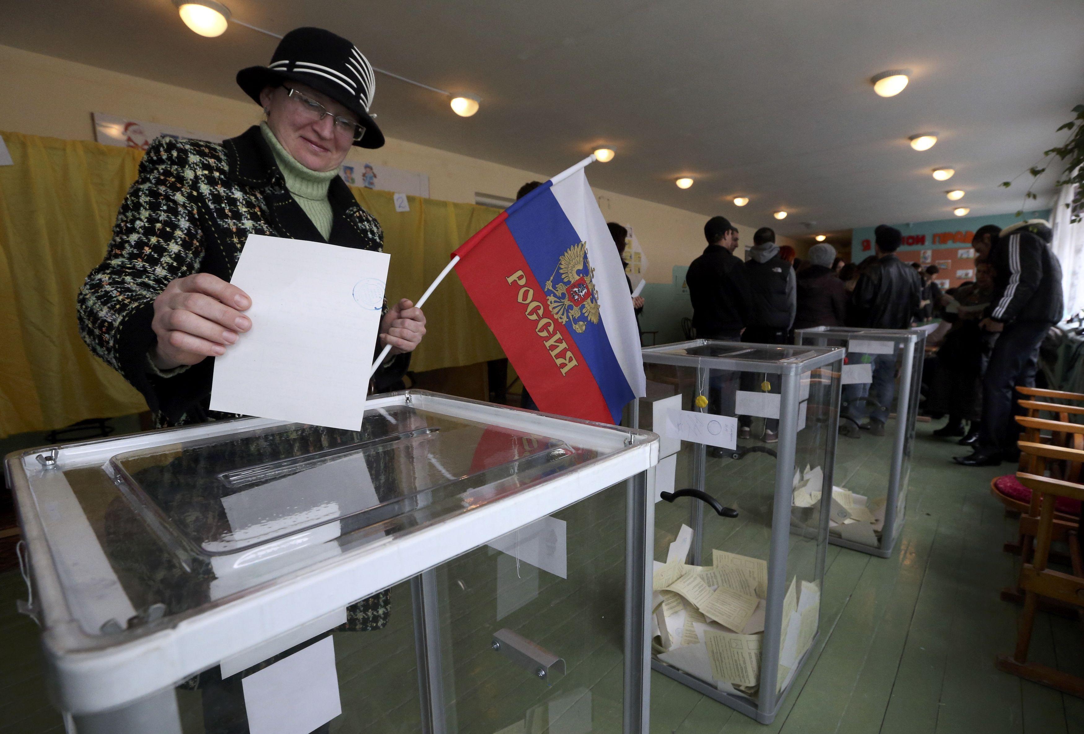 Псевдореферендум в Крыму