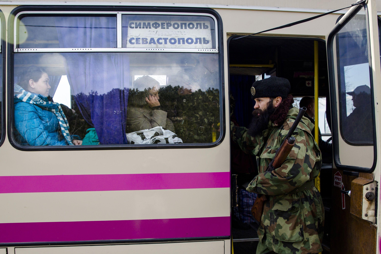 Представитель крымской самообороны