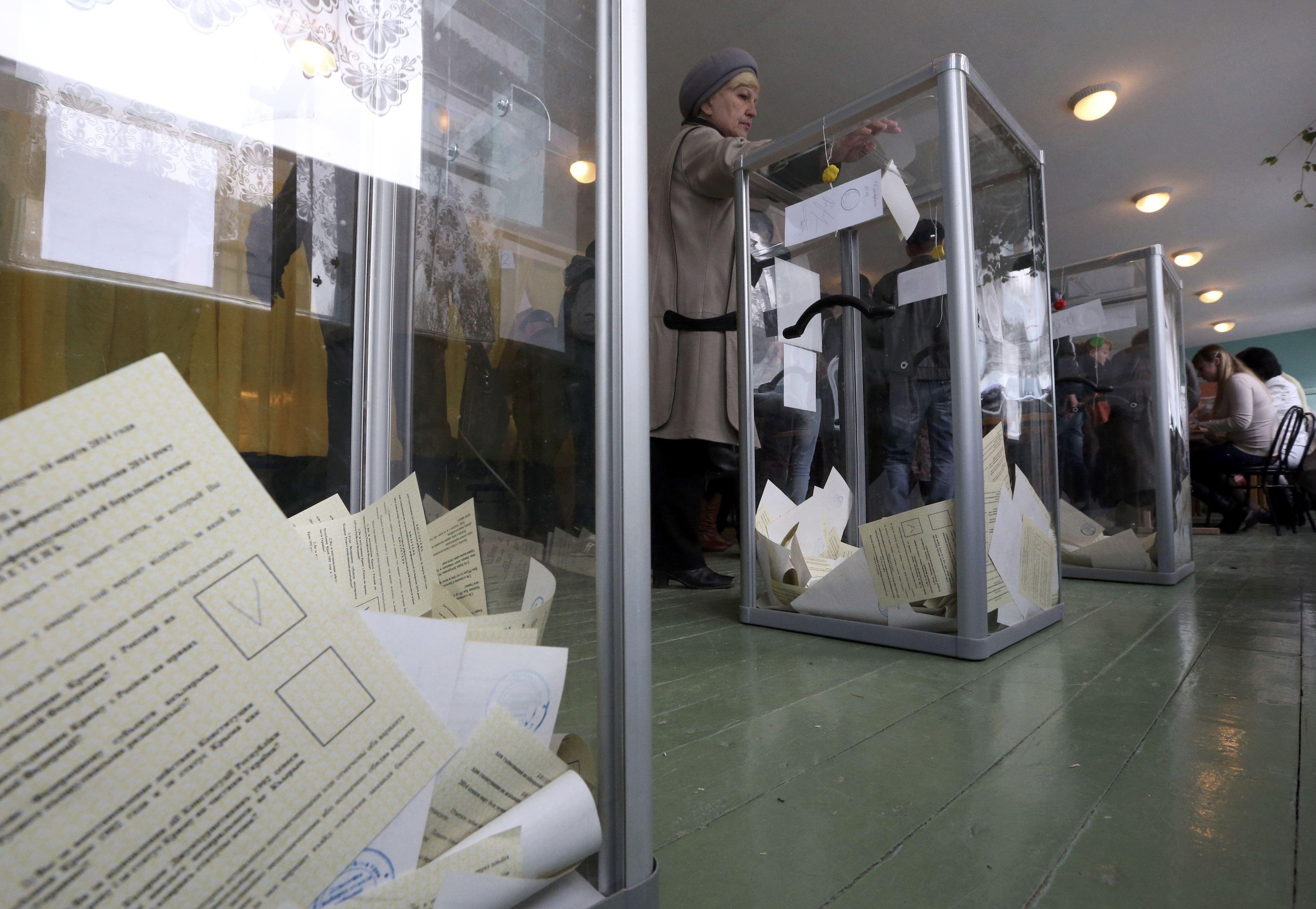На референдуме в Крыму зафиксированы нарушения
