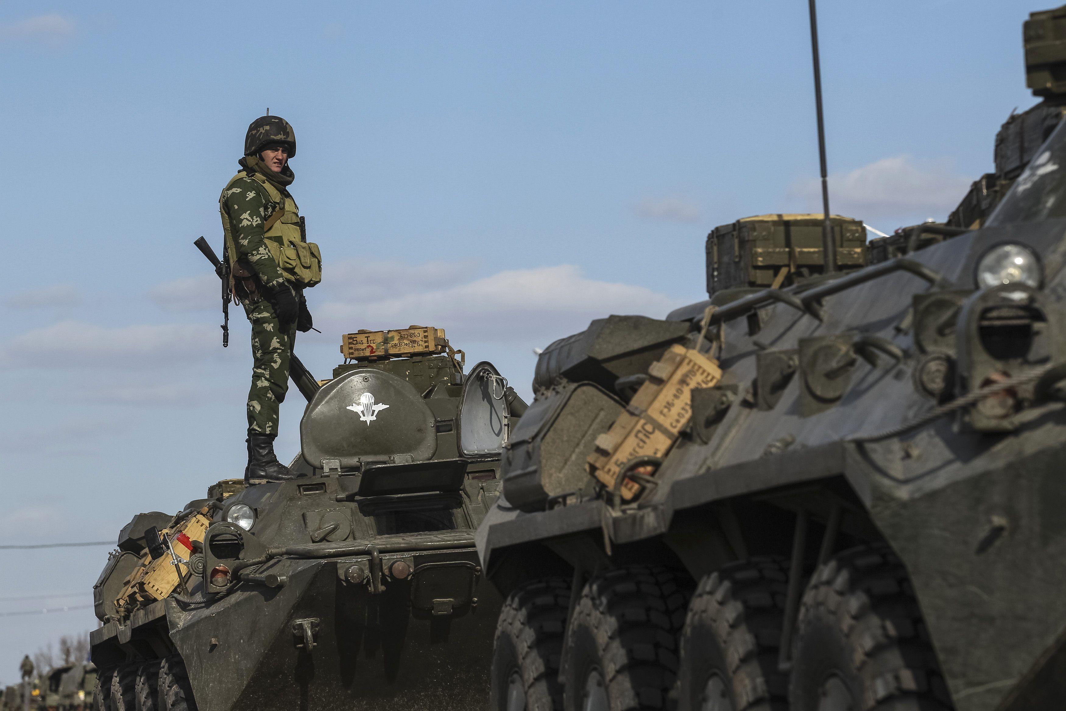 Украинская армия в полной боевой готовности